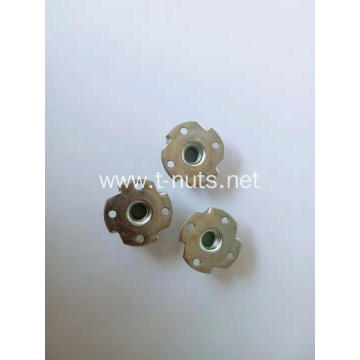 Alien Perforated Disc Four Prongs T-nuts