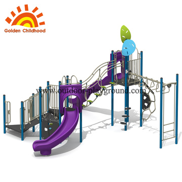 Single Purple Outdoor Playground Equipment For Sale