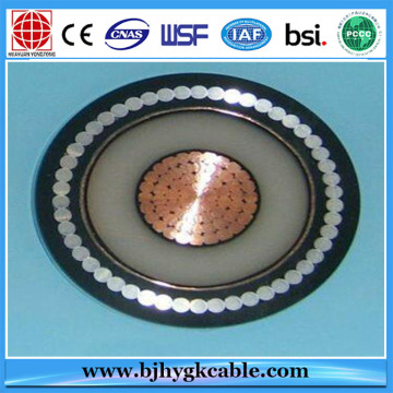 132kV 800mm2 Copper XLPE insulated Underground power Cable