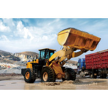 SEM660D Wheel Loaders Road Building Load-Carry Construction