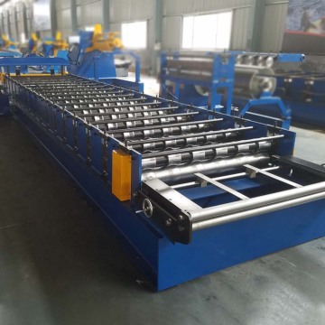 IBR Trapezoidal Roofing Sheet Roll Forming Machine