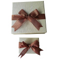 Exquisite Eco-friendly Bracelet Paper Box with Ribbon