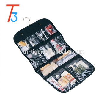 Transparent Clear Hanging Travel Toiletry Cosmetic Organizer Storage Bag