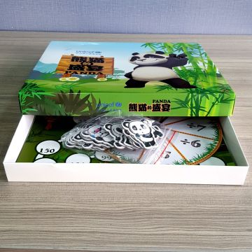 Custom design color pattern high quality paper box