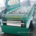 Excellent quality customized width standing seam metal roof machine