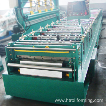 Wholesale customized width galvanized steel tile machine