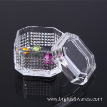 10 Years for China Manufacturer of Jewel Boxs, Large Jewelry Box, Black Jewelry Box, Ring Jewelry Box Hot Selling Unique Design Crystal Glass Jewel Box export to Indonesia Manufacturer
