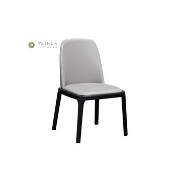 Solid Wood Dining Chair Black leg