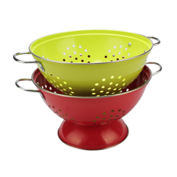 Durable Twins Handle Colander