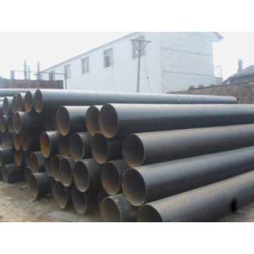 Q235B ERW black round steel welded pipe