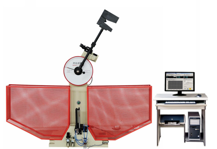 Izod Pendulum Impact Test Machine For Metal