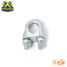 High Quality for Galvanized Shackles New Design Small Stainless Steel Wire Rope Clip export to Iraq Importers
