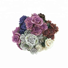 Beautiful silk rose office artificial decoration flower