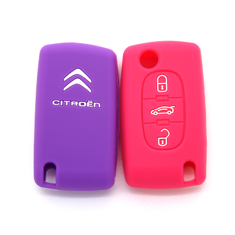 Rubber remote car key cover industry