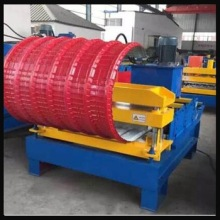 roof sheet horizontal curving machine