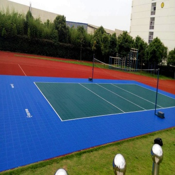 Outdoor Basketball Court Tiles Flooring