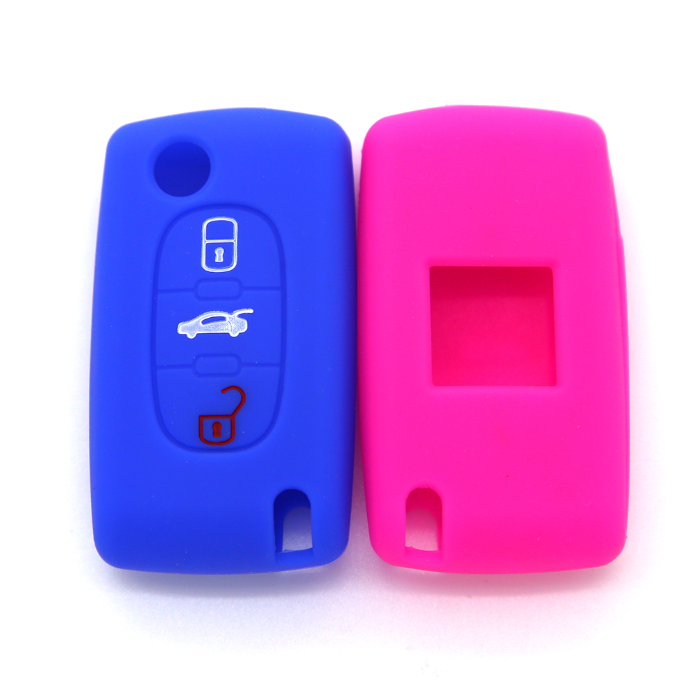 Peugeot Remote Flip Key Case