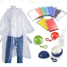 Hot sale Adult Rain poncho Gear In Ball