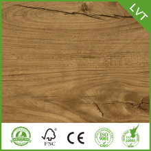 5.0mm fiberglass backed vinyl flooring
