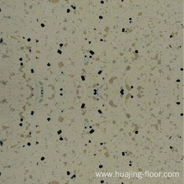 Homogenous anti-static PVC floor