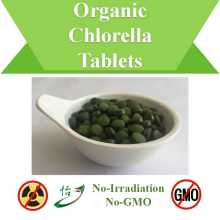 Non-Irradiation & Non-GMO Organic Chlorella Tablets