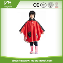 Multi Colored Child PU Raincoat Ponchos