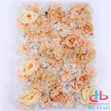 Wedding artificial flower wall decoration wholesale