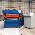 Heavy duty corrugated metal steel roofing machine