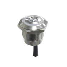factory customized for 22Mm Metal Switches Illuminated Capacitive Anti Vandal Push Button Switch supply to South Korea Factories