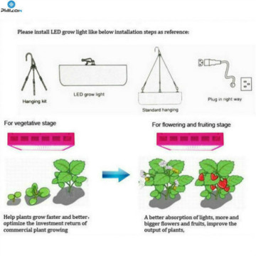 300W LED Plant Grow Growth Growth Supplement Lamp