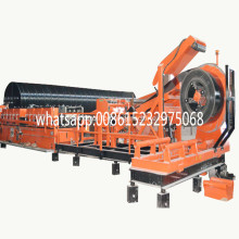 corrugated and galvanized steel culvert pipes machine