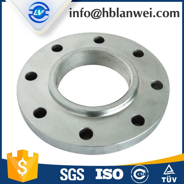 ANSI B16.5 A105 carbon steel threaded flange