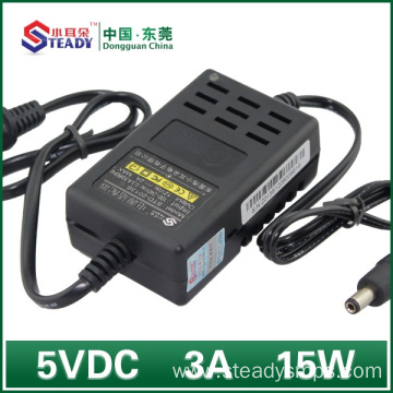 OEM Supply for Power Supply Plug Type Desktop Type Power Adapter 5VDC 3A export to Spain Suppliers