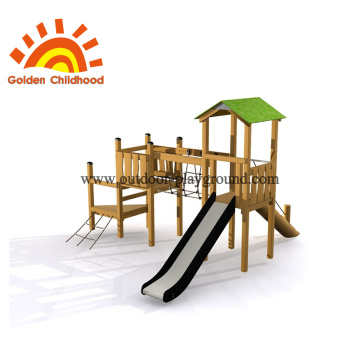 Kids outdoor playground equipment storage