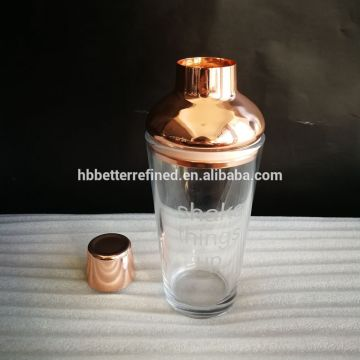 Leading for Supply Various Mixed Drinkware Sets, Multifunction Mixing Cup Sets, Mix color Drinkware Sets of High Quality Luxury Barware Cocktail Shaker Set export to Montserrat Manufacturers