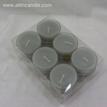 Scented Colored Tea Light Candle For Wedding Party