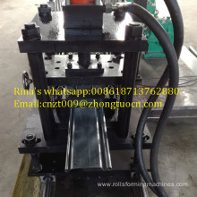 metal roller shutter door guide rails roll forming machine