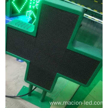 P6 Double Side Cross Pharmacy LED Display