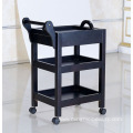 solid wood beauty salon trolley