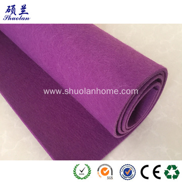 Purple color felt fabric 3mm