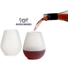 Hot sale good quality for Silicone Wine Glass FDA LFGB standard Transparent Portable silicone wine cups export to Myanmar Factory