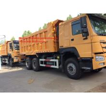 Good Quality for Light Dump Truck 336HP LHD Sinotruk Howo 6x4 Dump Truck supply to Samoa Factories