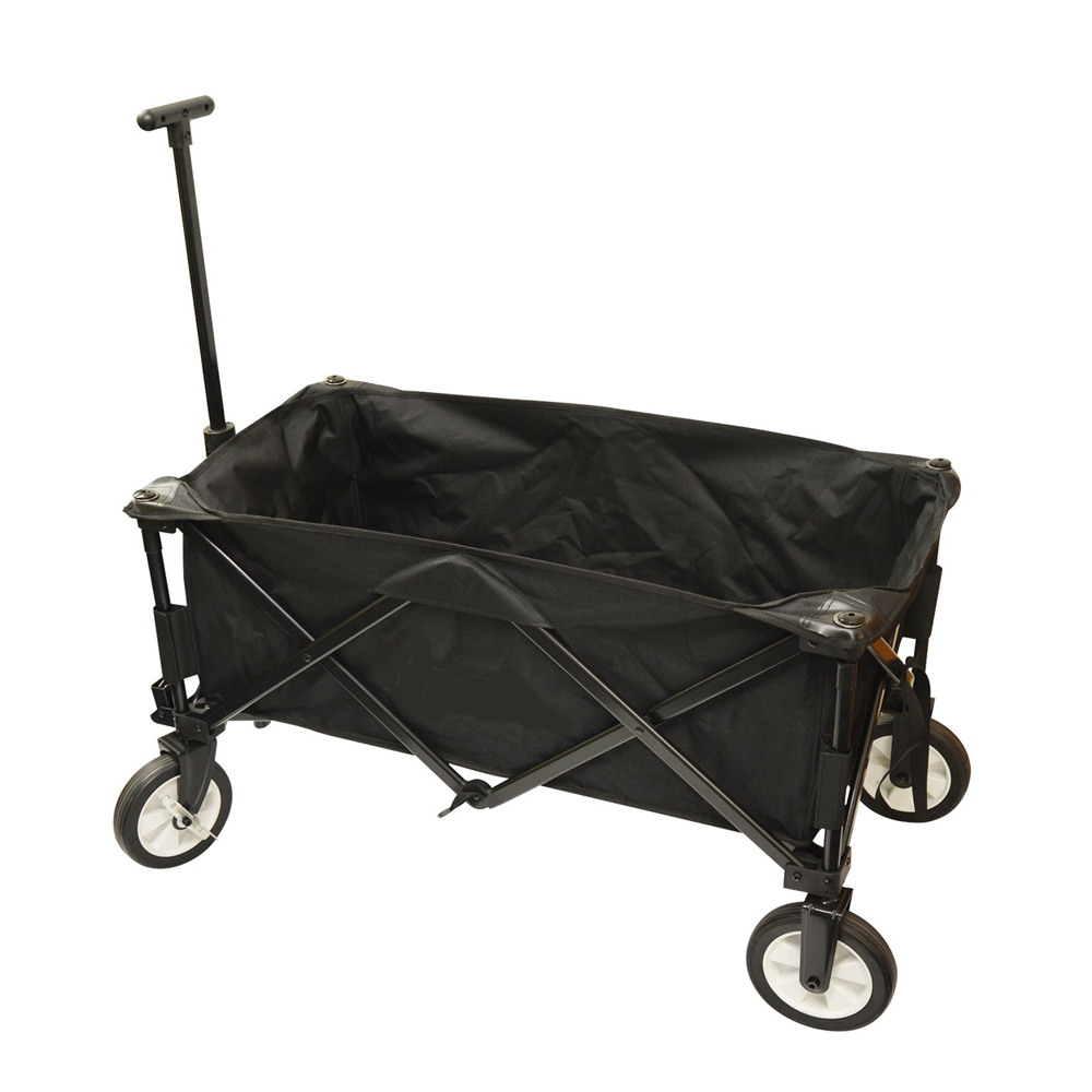 Black Portable Wagon