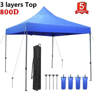 Steel Commercial Folding Tent 3X3m Portable Event Canopy