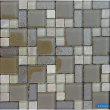Classic Glass Stone Mixed Mosaic Tile