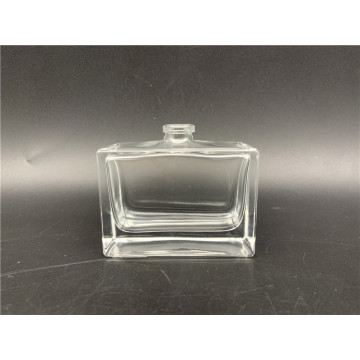 50ml Square Clear Spray Glass Perfume Bottle