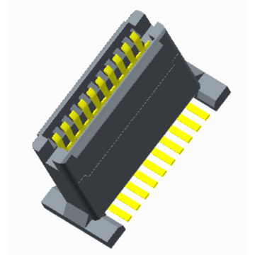 Hot sale Factory for Board To Board Terminal Connectors 1.0mm Board to Board Female mating Height=12.65~14.65mm supply to Pitcairn Exporter
