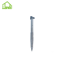 Stable Ground Screw Pile with Triangle Flange