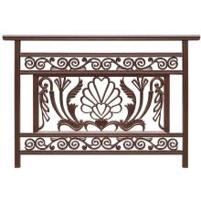 China for Balcony Fence Bird dance  aluminum balcony fence export to India Supplier