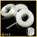 Soft clear vinyl pvc zipper wholesale for bags